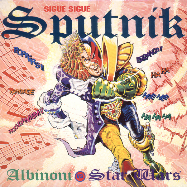 Sigue Sigue Sputnik – Albinoni vs Star Wars by Ron Smith