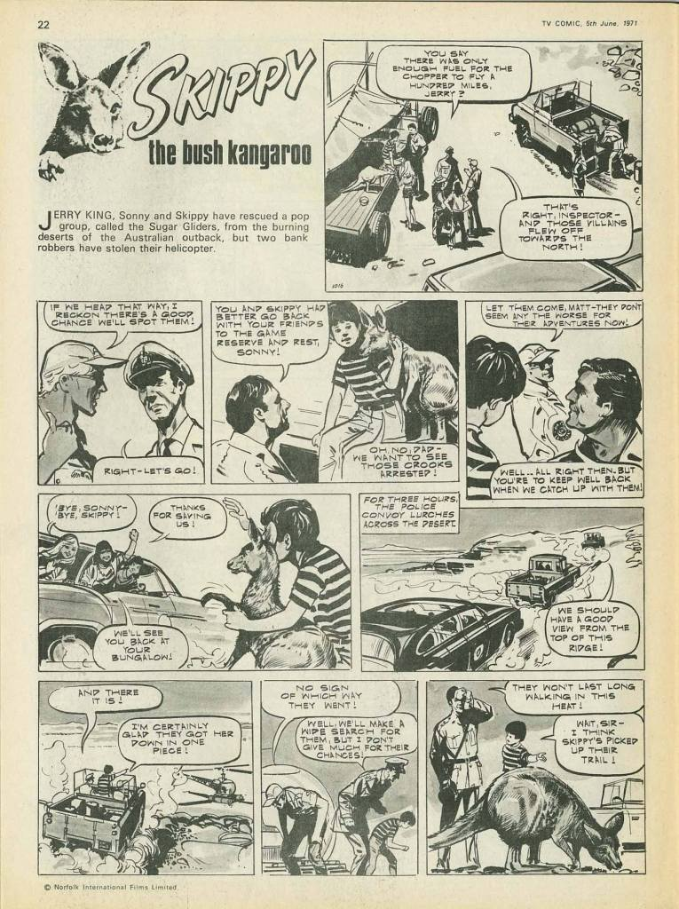 TV Comic 1016 - Cover dated 5th June 1971 - Skippy