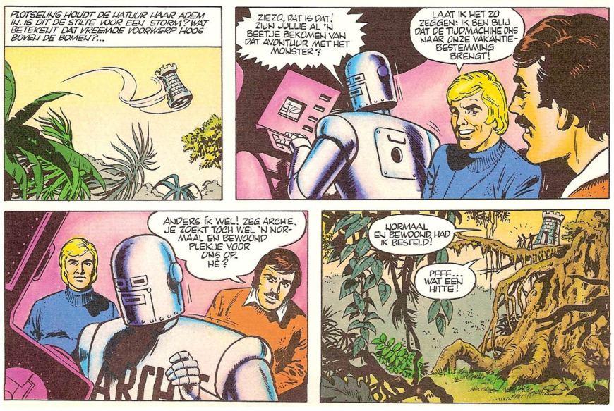 Archie - De terugkeer van Kruls. Via Lambiek
