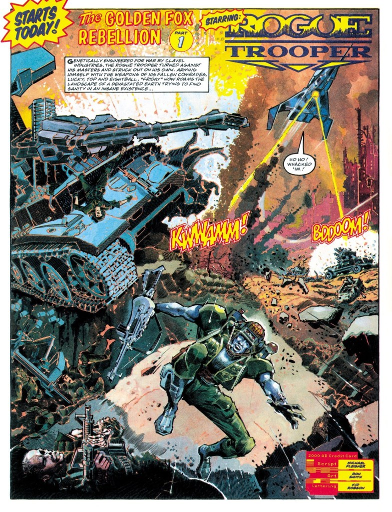 2000AD - Rogue Trooper by Ron Smith