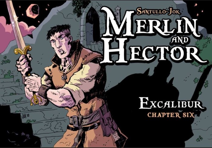 Merlin and Hector © 2018 Jok LP and Rodolfo Santullo