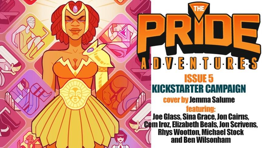 The Pride Adventures by Joe Glass