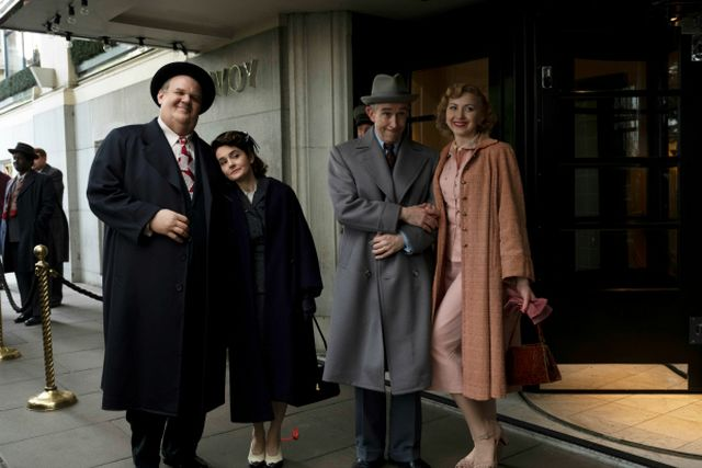 Stan and Ollie - John C. Reilly and Steve Coogan
