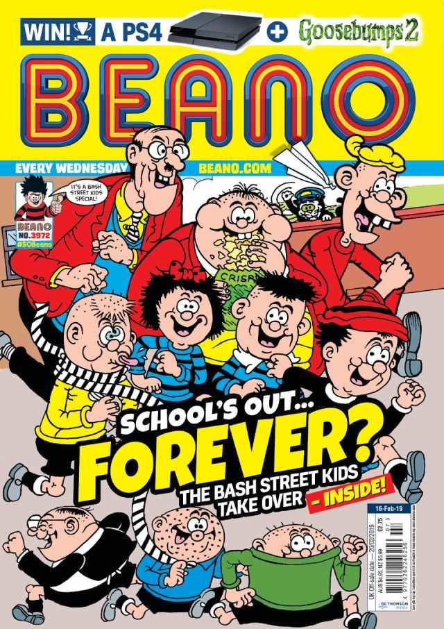 Beano 3972 Cover