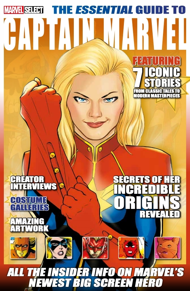 Essential Guide to Captain Marvel - Cover