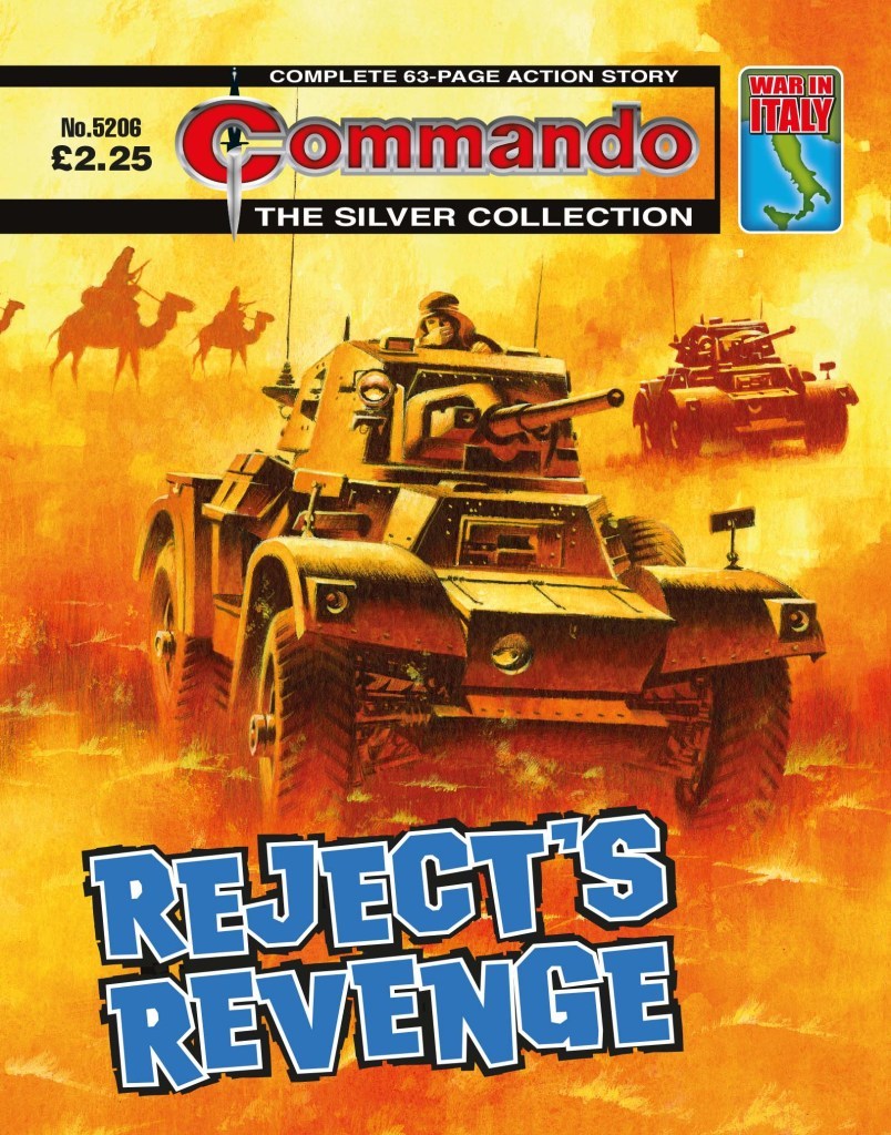 Commando 5206: Silver Collection -Reject's Revenge