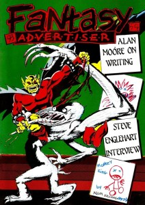Fantasy Advertiser 93 - cover by Nigel Kitching