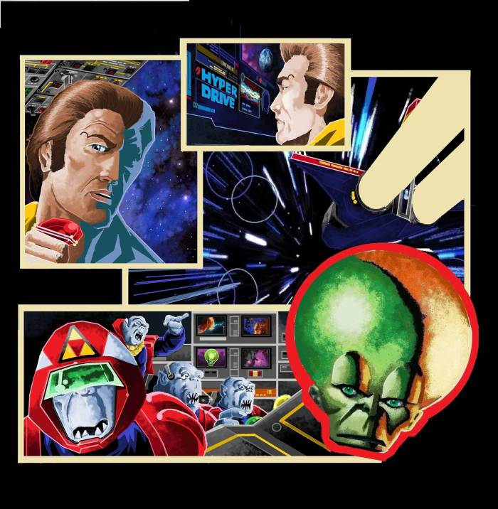 "Dan Dare - Journey Through Time by ""Danny"""