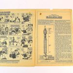 Internal pages, including comic strip, from a 1964 edition of Primo Club Magazine