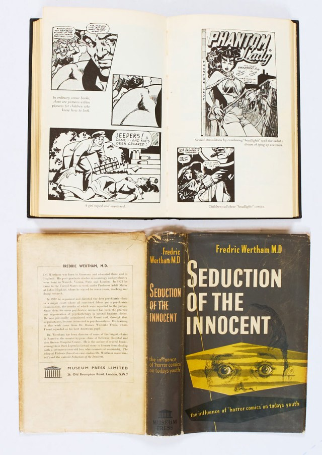 Seduction of the Innocent by Fredric Wertham M.D, published by Museum Press in 1956, describing the claimed influence of