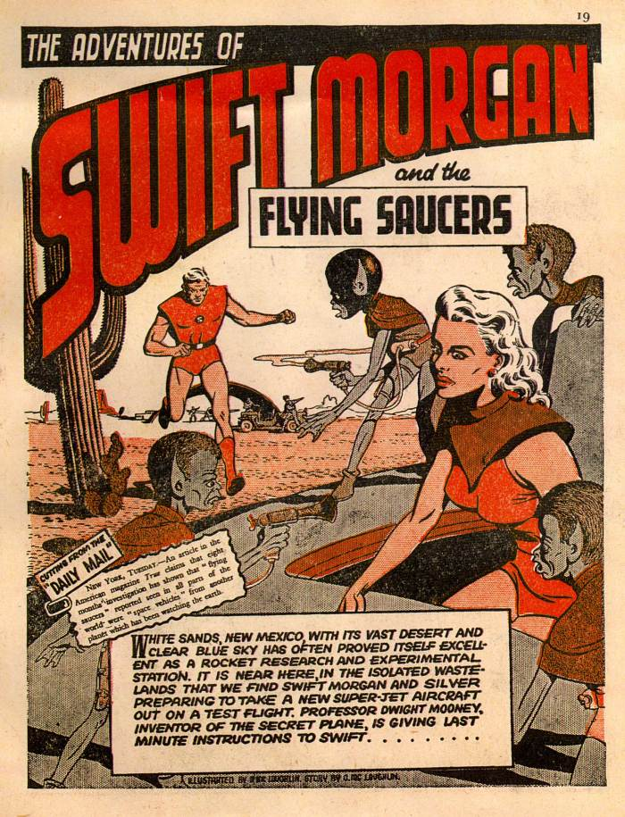 Swift Morgan and the Flying Saucers