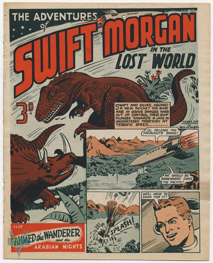 Swift Morgan in The Lost World