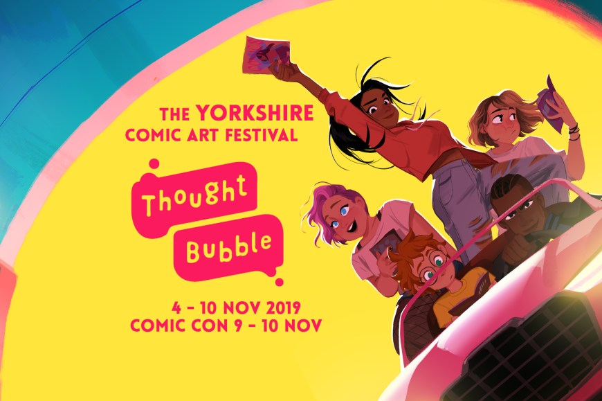 Thought Bubble 2019 - Banner