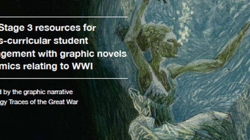 Tracing the Great War: comics-inspired World War One teaching resource launches