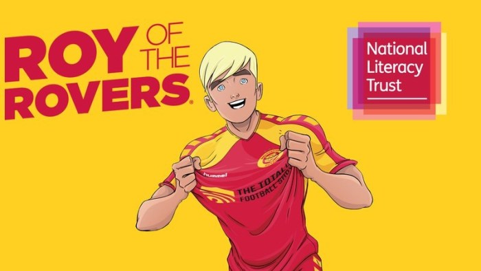 Roy of the Rovers National Literacy Trust Competition