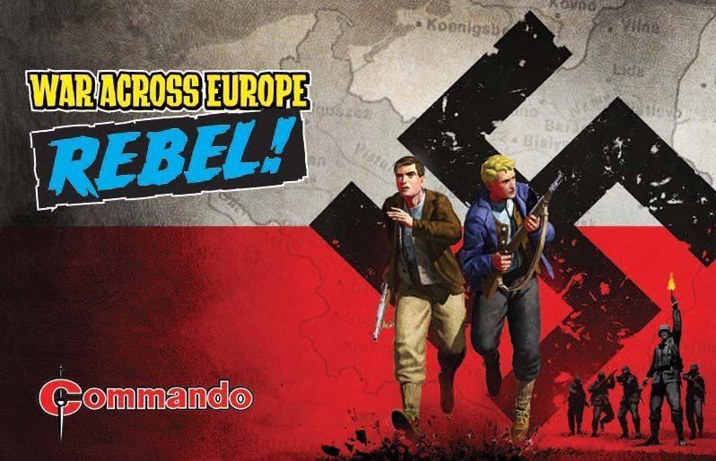 "Commando Comics tease new series, ""War Across Europe: REBEL!"""