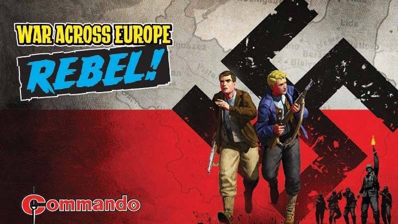 """War Across Europe"" launches in new Commando comic!"