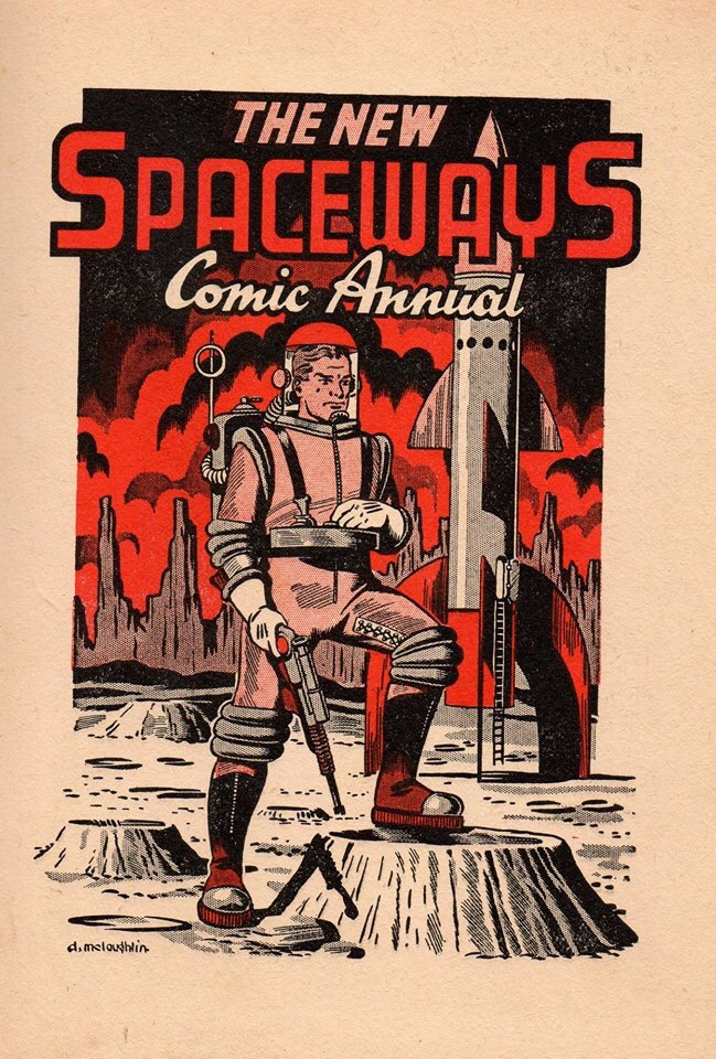 The New Spaceways Comic Annual with Swift Morgan
