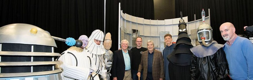 "Staff and students at the University of Lancashire have recreated the Doctor Who episode ""Mission to the Unknown"" as a special project. Photo courtesy UCLan"