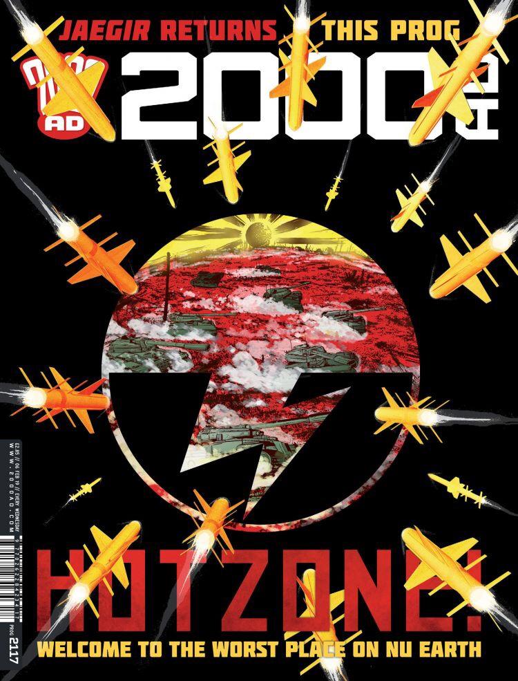 2000AD Prog 2117 - Cover