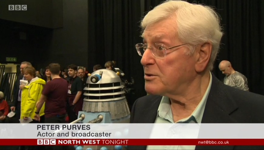 UCLan recreate Doctor Who - Mission to the Unknown Peter Purves