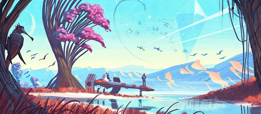 No Man's Sky - ™© 2016 Hello Games Ltd. Developed by Hello Games Ltd. All rights reserved