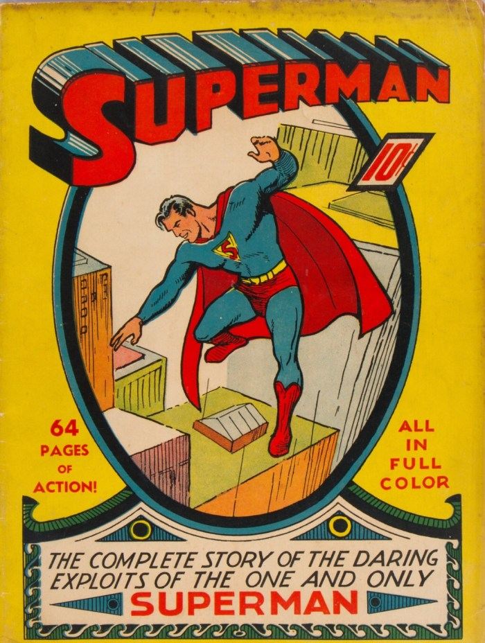 Superman #1 Cover (1939)