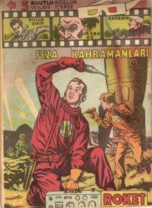 "Feza Kahramanlari"" (Dan Dare) in a 1956 issue of Roket, published in Turkey"