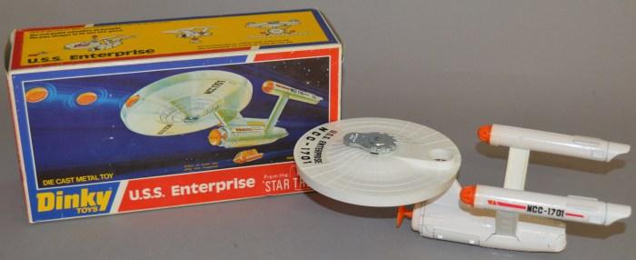 Dinky USS Enterprise 358