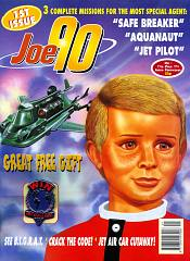 The cover of Fleetway Editions Joe 90 Issue One, published in 1994, which lasted just seven issues