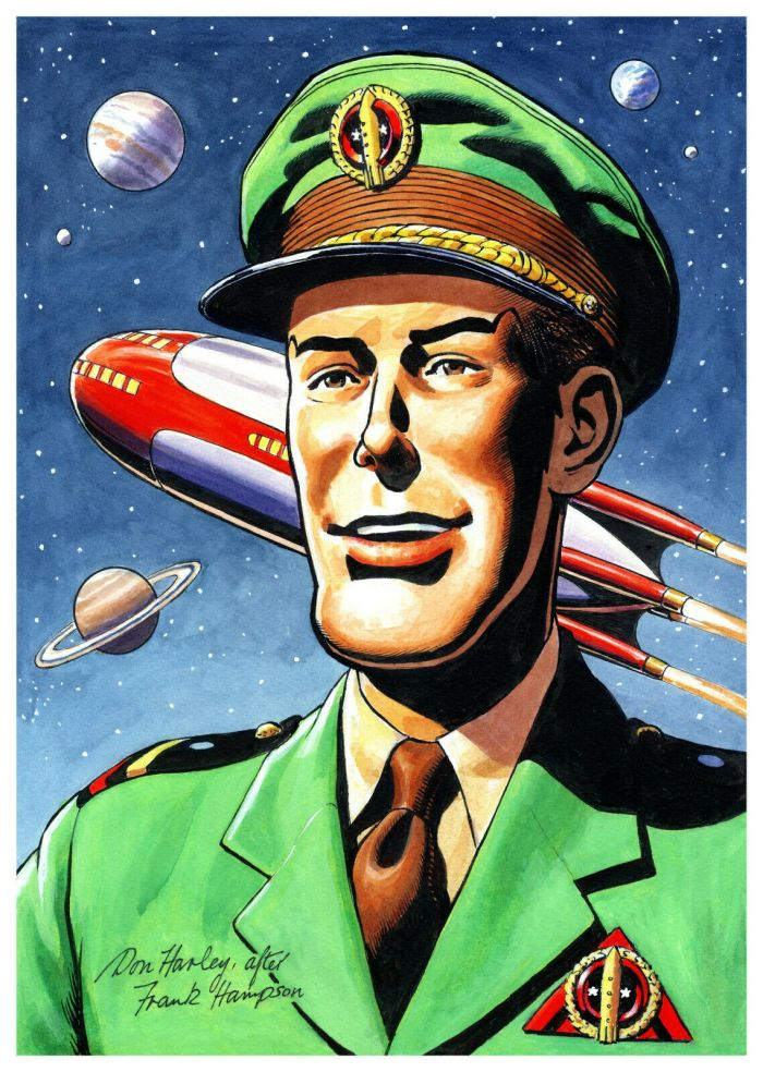 Spaceship Away Issue 47 - Dan Dare by Don Harley
