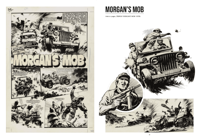 """Morgan's Mob"" art by Ian Kennedy © DC Thomson & Co Ltd. 2019"