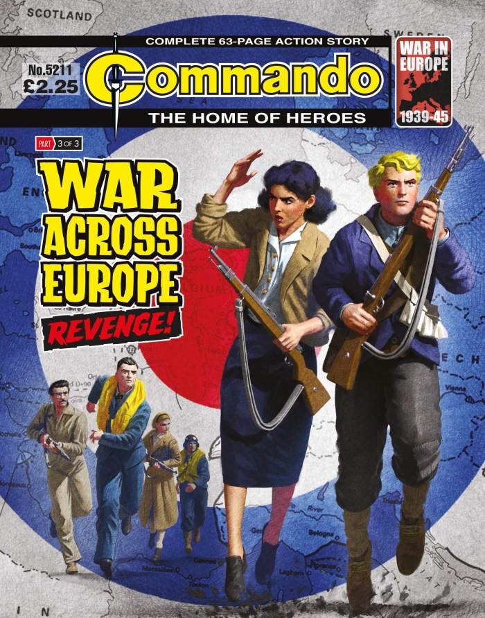 Commando 5211: War Across Europe: REVENGE!