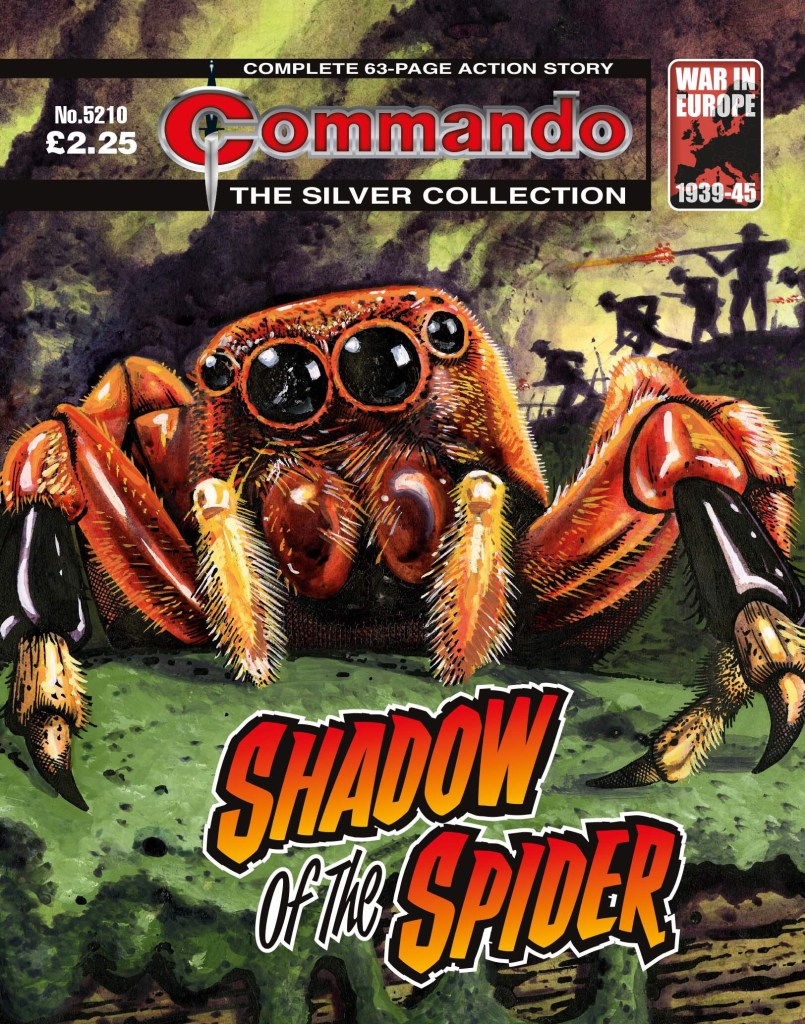 Commando 5210: Silver Collection: Shadow of the Spider