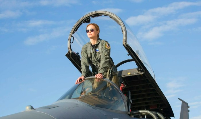 Brie Larsen in Captain Marvel