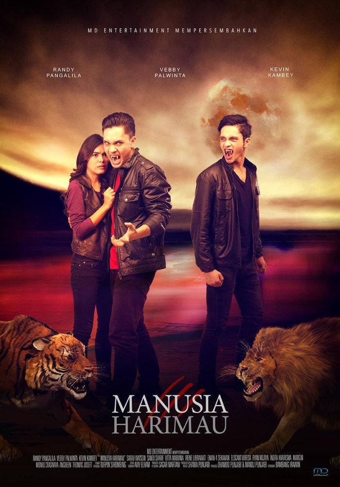 Manusia Harimau (Seven Men-Tigers) Film Poster