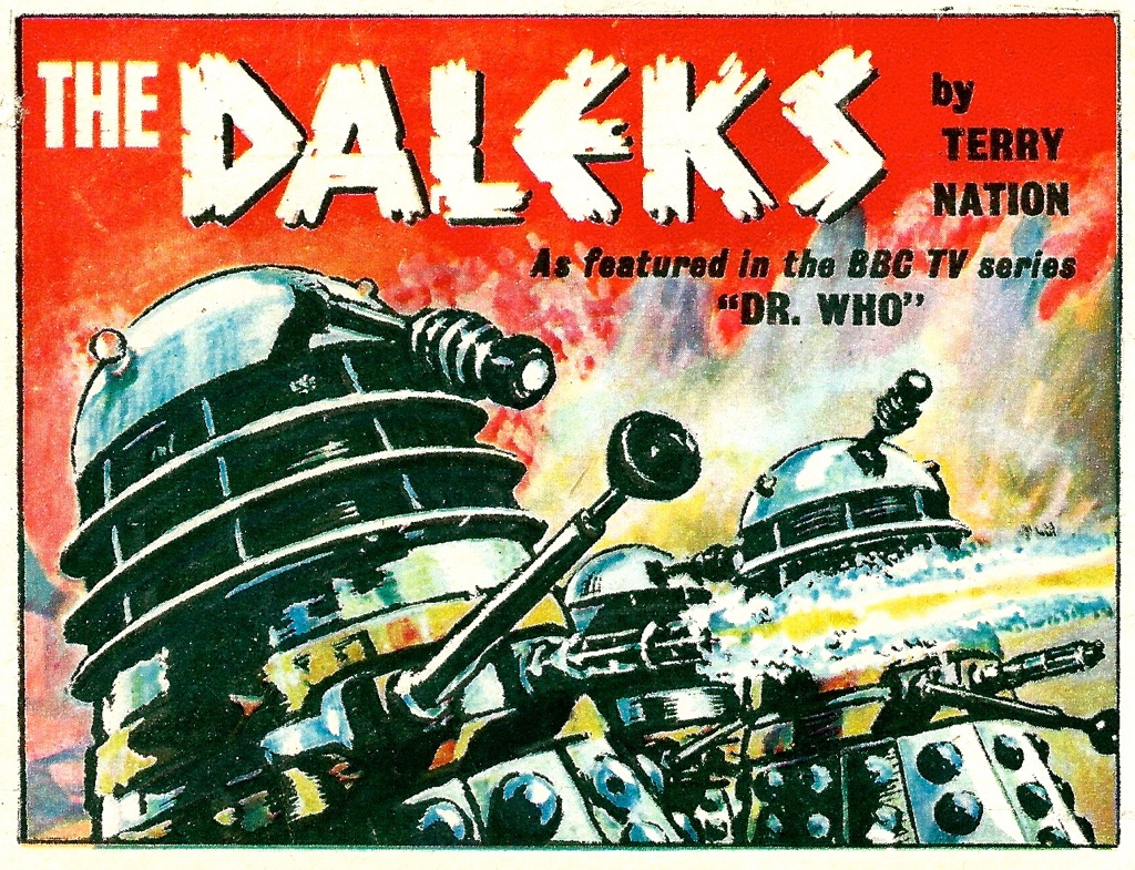Doctor Who: Panel to Panel  goes retro!
