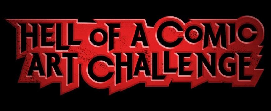 Lakes International Comic Art Festival 2019 Hell of a Comic Art Challenge