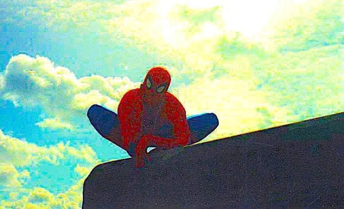 Spider-Man at Marvel UK. Photo courtesy Tim Quinn
