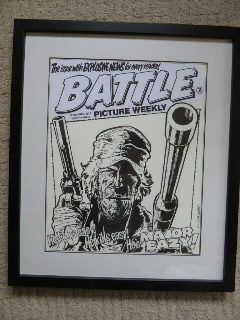 Battle Picture Weekly - a cover recreation by Carlos Ezquerra