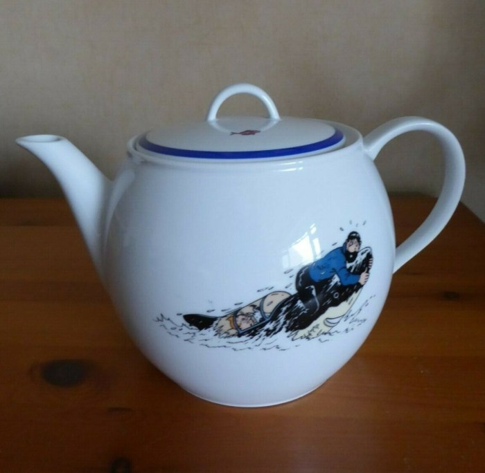 Royal Mint Tintin teapot