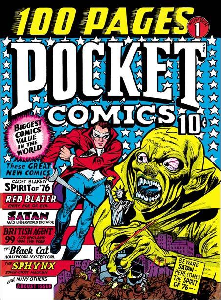 Pocket Comics #1, cover by Joe Simon