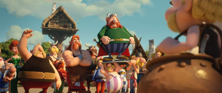 """A scene from """"Asterix and the Magic Potion"""", released in 2018"""