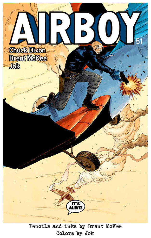 Airboy #51 - Cover