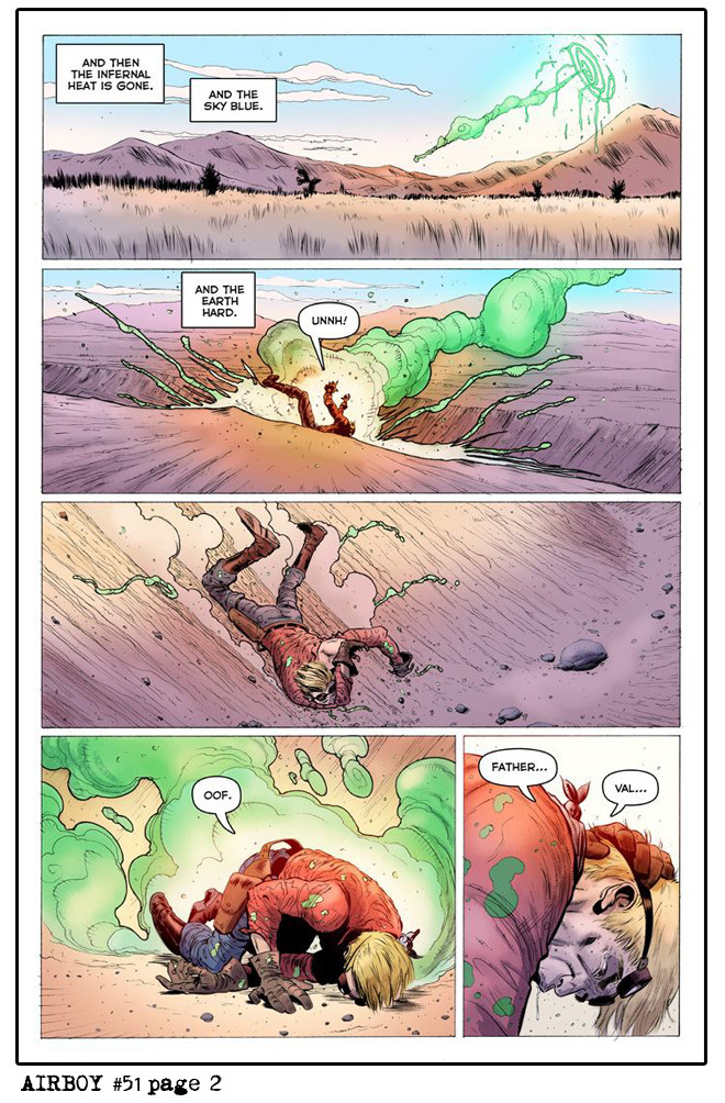 Airboy #51 - Sample Page