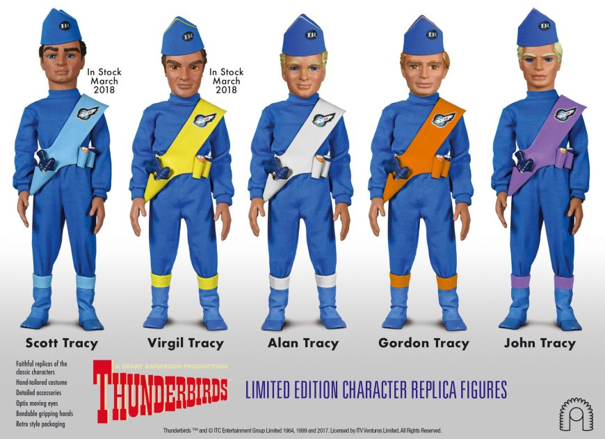 BIG Chief Studios Thunderbirds Tracy Brothers