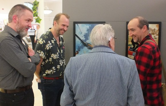 Ian Kennedy talks to the new Commando cover artists Graeme Neil Reid, Neil Roberts and Keith Burns