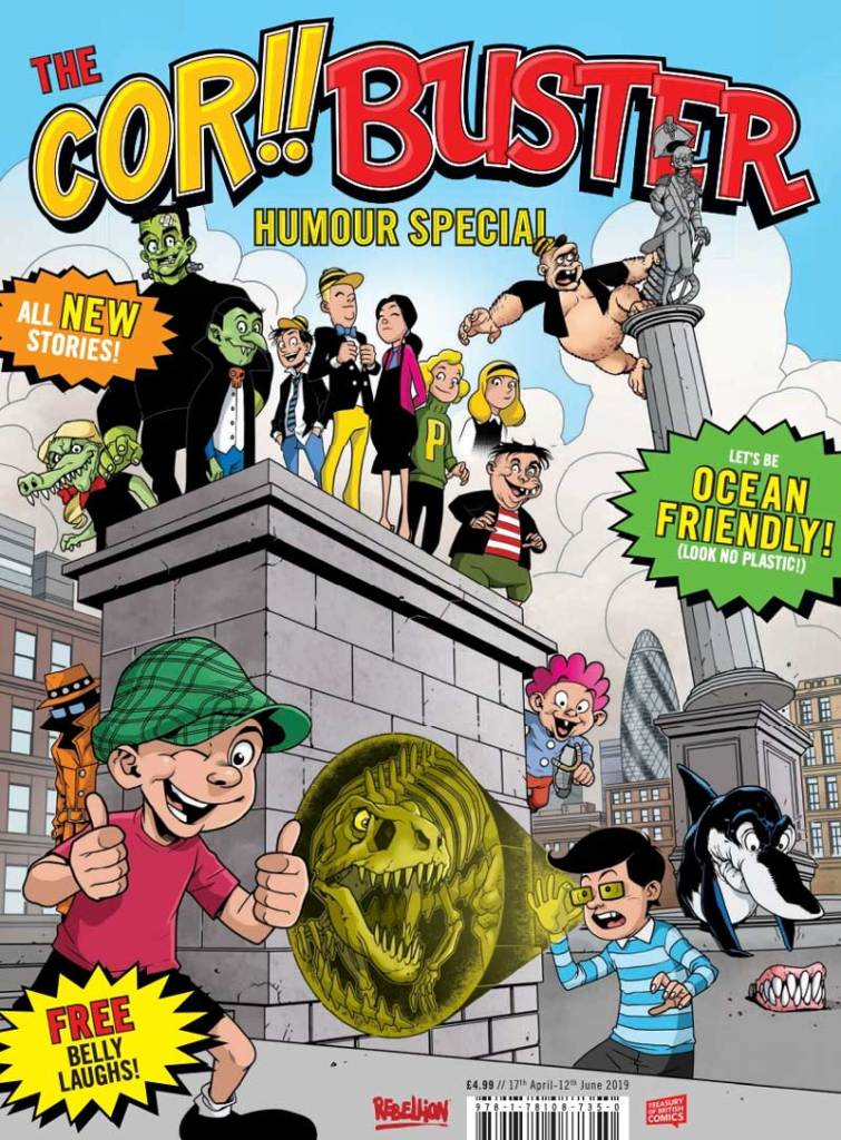 Cor!! and Buster Special Cover