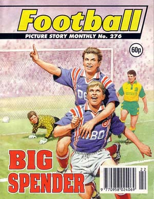 Football Picture Story Monthly 276 - Big Spender