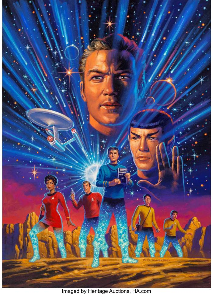 Greg Hildebrandt's Star Trek: Year Five cover